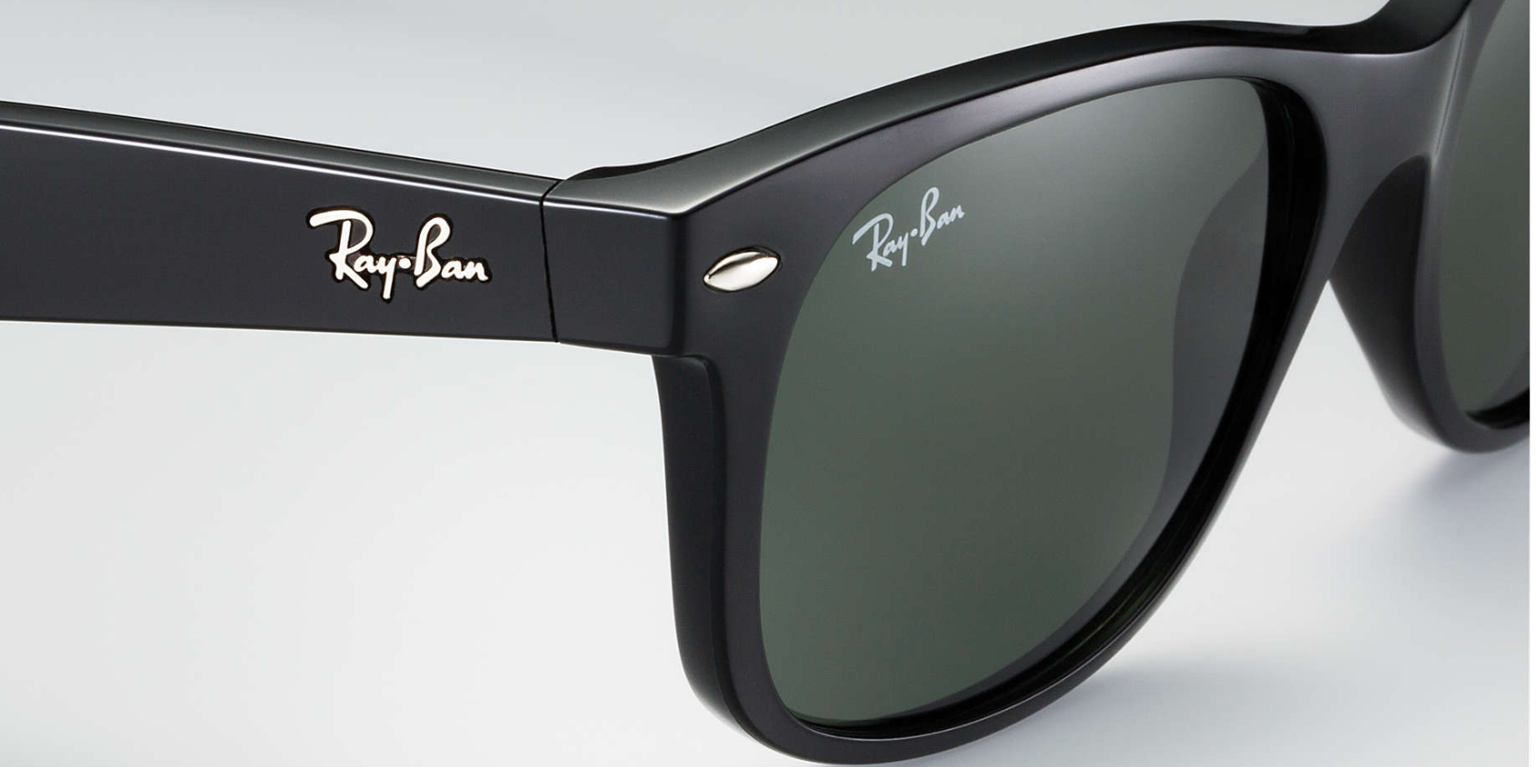 ee51ca299c Ray-Ban New Wayfarer Black Classic Sunglasses RB2132 - Flight Sunglasses