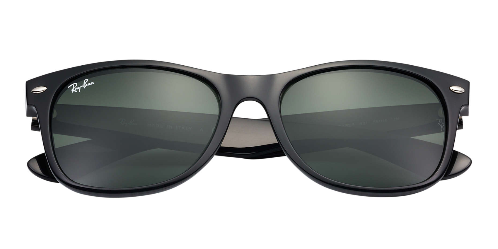 ed489b6c9aa Ray-Ban New Wayfarer Black Classic Sunglasses RB2132 - Flight Sunglasses