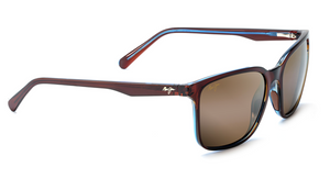 Maui Jim Wild Coast 756 Sunglasses<span>-Rootbeer Blue with Polarized HCL Bronze Lens</span>