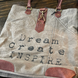 Dream Create Inspire Re-Cycled Canvas Collection
