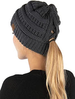 Black Criss Cross Beanie