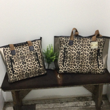 Leopard or Snake Print Leather Purse