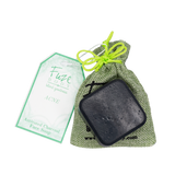 Acne Control Activated Charcoal Facial Soap: Tea Tree + Peppermint