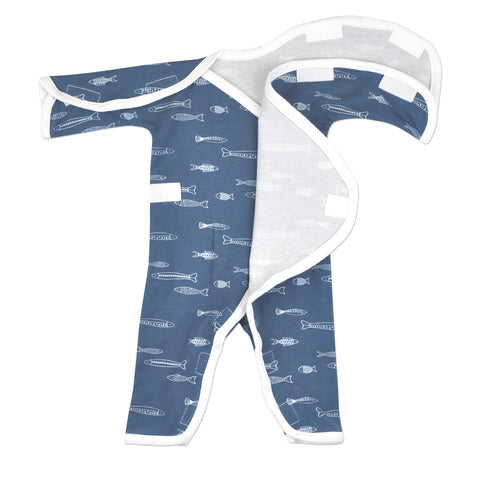 The jumpsuit is extremely NICU-Friendly