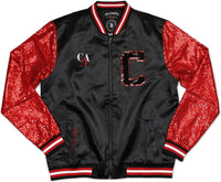 Clark Atlanta Panthers Ladies Sequins Satin Jacket