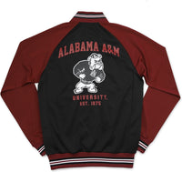 Alabama A&M Bulldogs S3 Mens Jogging Suit Jacket