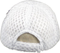 Plain Air Mesh Curved Bill Mens Cap