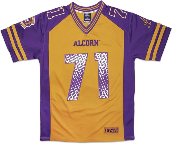 Alcorn State Braves S10 Mens Football Jersey
