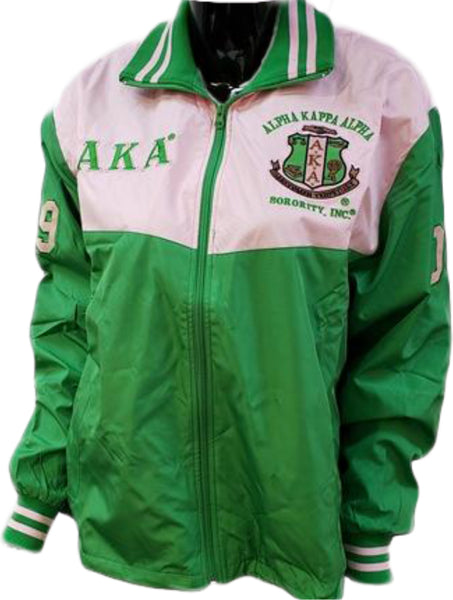 Buffalo Dallas Alpha Kappa Alpha Ladies Track Jacket