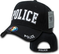 Police Deluxe Law Enf. Mens Cap