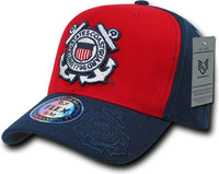 Coast Guard Flex Military Mens Fitted Cap