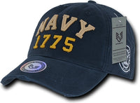 Navy Vintage Athletic Mens Cap