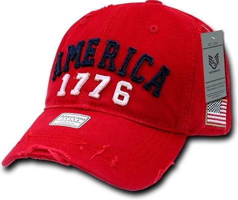 America 1776 Vintage Athletic Mens Cap