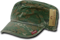 Plain Vintage Washed Patrol Mens Cadet Cap