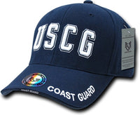 Coast Guard USCG Text The Legend Mens Cap