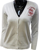 Delta Sigma Theta Classic Light Weight Ladies Cardigan
