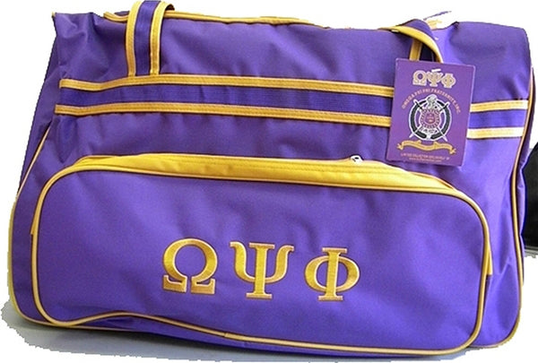 Omega Psi Phi Carry-On Luggage Trolley Bag