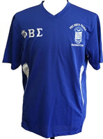 Buffalo Dallas Phi Beta Sigma Shield Dri-Fit Mens Tee [Long Sleeve]