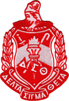 Delta Sigma Theta Crest Iron-On Patch