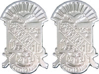 Phi Beta Sigma Shield Sandblasted Cuff Links with Box
