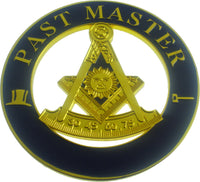 Past Master Mason Cut Out Heavy Weight Car Emblem