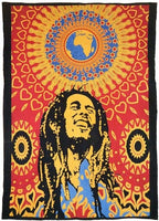 Bob Marley Loving Life Twin Size Bedspread Cloth Tapestry
