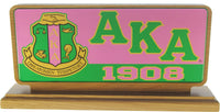 Alpha Kappa Alpha Domed Desktop Piece