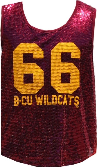 Bethune-Cookman Wildcats Ladies Sequins Tank Top