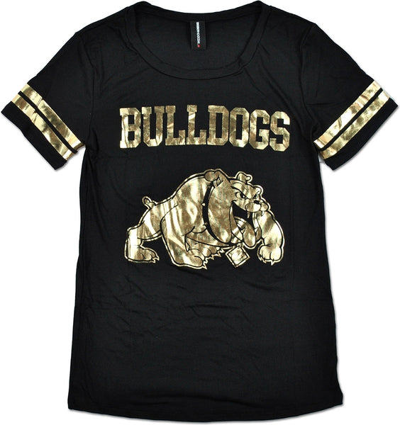 Big Boy Bowie State Bulldogs Ladies Jersey Tee