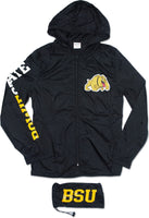 Bowie State Bulldogs Thin & Light Ladies Jacket with Pocket Bag