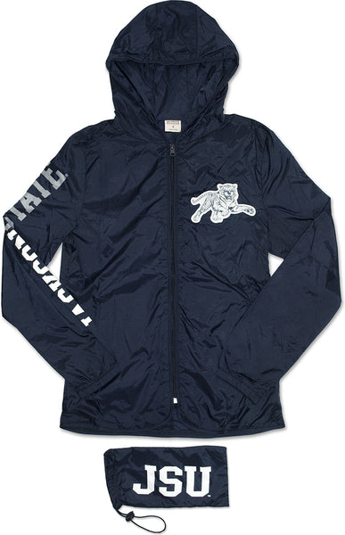 Jackson State Tigers Thin & Light Ladies Jacket with Pocket Bag