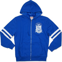 Big Boy Phi Beta Sigma Divine 9 Mens Zip-Up Hoodie Jacket