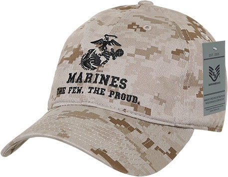 RapDom Marines The Few The Proud Relaxed Cotton Mens Cap