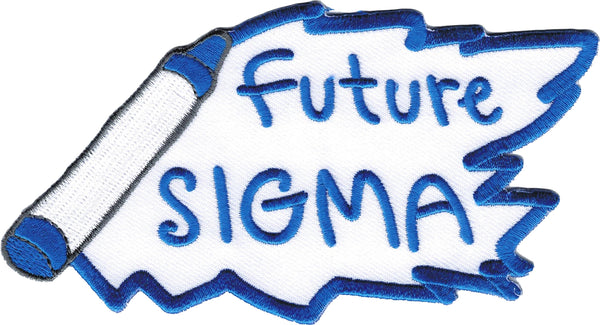 Phi Beta Sigma Future Sigma Iron-On Patch