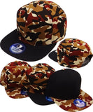 Plain Snapback Mens Cap [Flat Bill]