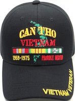 Can Tho Vietnam Veteran Proudly Served Mens Cap