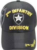 2nd Infantry Division Shadow Jersey Mesh Mens Cap