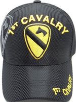 1st Cavalry Shadow Jersey Mesh Mens Cap