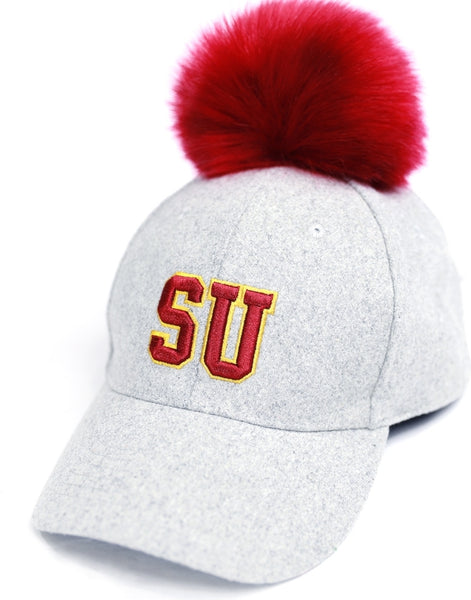 Big Boy Shaw Bears S8 Ladies Pom Pom Cap