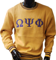 Buffalo Dallas Omega Psi Phi Crew Neck Mens Sweatshirt