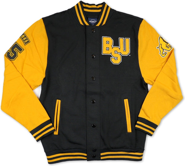 Big Boy Bowie State Bulldogs Mens Fleece Jacket