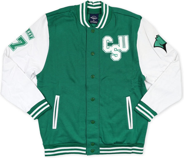 Chicago State Cougars Mens Fleece Jacket