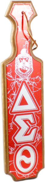 Delta Sigma Theta Crest Domed Paddle