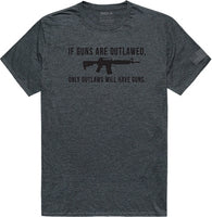 Outlawed Tactical Graphics Mens Tee
