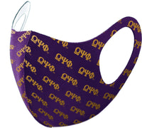 Omega Psi Phi Divine 9 S2 Summer Poly Fashion Face Mask