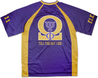 Omega Psi Phi Divine 9 S4 Mens Football Jersey