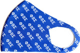 Big Boy Phi Beta Sigma Divine 9 S2 Summer Poly Fashion Face Mask