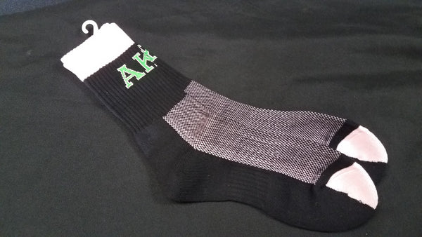 Alpha Kappa Alpha Ladies Crew Socks