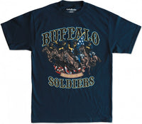 Buffalo Soldiers Graphic S21 Mens Tee