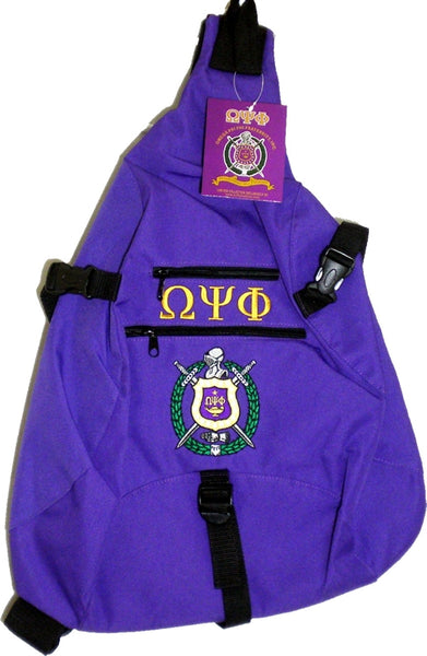Omega Psi Phi Sling Bag Backpack